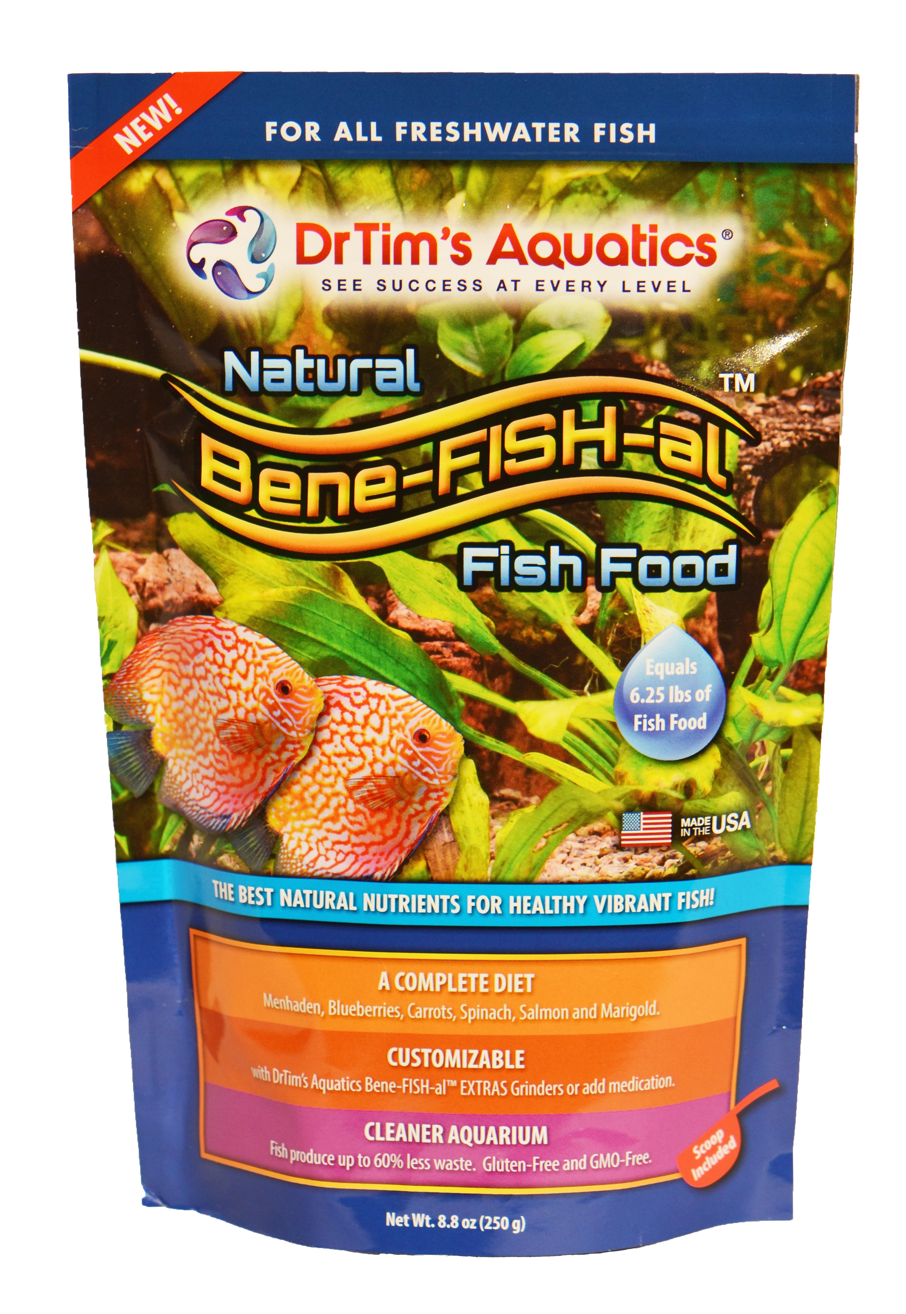 Bene fish al freshwater fish food economy pack for Freshwater fish food