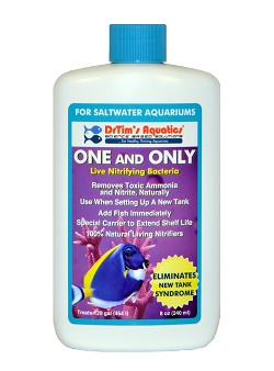 One & Only Live Nitrifying Bacteria for Saltwater Aquaria