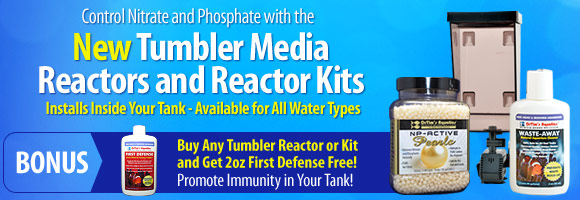Control Nitrate and Phosphate with the New Tumbler Media Reactors and Reactor Kits