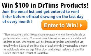 Win $100 in Free DrTims Products!