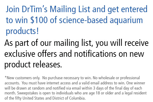Join Today and get entered to win $100 of free DrTim's products.  One drawing per month!