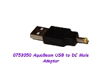 AquaBeam USB to DC male adaptor