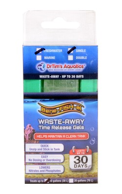 Waste-Away Gel Freshwater Small Single (up to 10 gals)